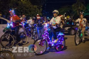 Key West Lighted Bike Parade
